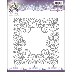 Find It Trading - Yvonne Creations Embossing Folder - Magical Winter