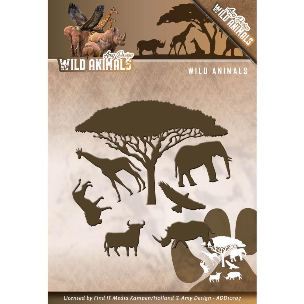 Find it trading amy design die wild animals for Wild design