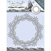 Find It Trading - Amy Design Die - Wintertide Ice Crystal Frame