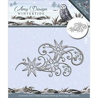 Find It Trading - Amy Design Die - Wintertide Ice Crystal Swirl