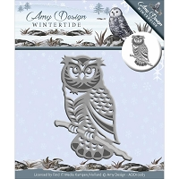 Find It Trading - Amy Design Die - Wintertide Owl
