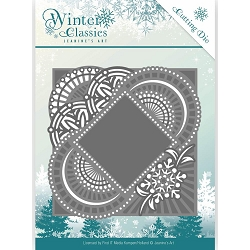 Find It Trading - Jeanine's Art Die - Winter Classics Mirror Frame