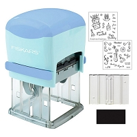 Fiskars - Push and Print Stamp Factory Kit