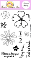 Frantic Stamper Clear Stamp Set - Pretty Posies