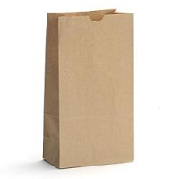 #10 Kraft Paper Sacks - package of 20 (6 9/16