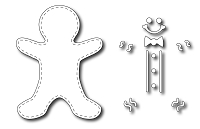 Frantic Stamper Precision Die - Gingerbread Boy