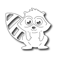 Frantic Stamper Precision Die - Adorable Raccoon