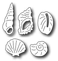 Frantic Stamper Precision Die - Beach Comber Icons (set of 5 dies)