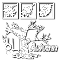 Frantic Stamper - Precision Dies - Mix 'N Match - Autumn Tree (set of 12)
