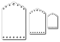Frantic Stamper - Precision Dies - Fancy Tags (set of 3)