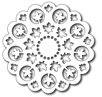 Image result for Frantic Stamper maple leaf doily