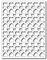Frantic Stamper Precision Cutting Die - Heart Full Panel