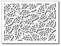 Frantic Stamper - Precision Dies - Tropical Leaf Card Panel