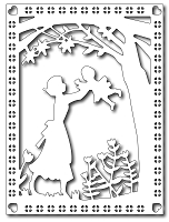 Frantic Stamper - Precision Dies - Mother & Child Card Panel