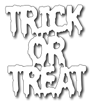 Frantic Stamper - Precision Dies - Large Trick Or Treat