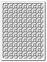 Frantic Stamper Precision Die - Great Grate Card Panel