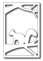 Frantic Stamper Precision Die - Framed Squirrel