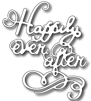 Frantic Stamper Precision Die - Happily Ever After