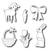 Frantic Stamper Precision Die - Easter Icons (set of 6 dies)