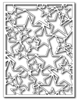 Frantic Stamper Precision Die - Star Card panel