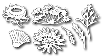 Frantic Stamper Precision Die - Mix N Match - Wildflowers