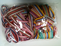 Frantic Stamper - Ribbon Grab Bag Assortment (approx 12 to 14 yards total) - Stripes