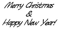 Frantic Stamper Cling-Mounted Rubber Stamp - Merry Christmas & Happy New Year