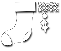 Frantic Stamper Precision Die - Christmas Stocking
