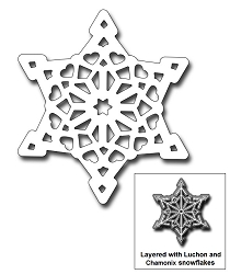 Frantic Stamper Precision Die - Courchevel Snowflake