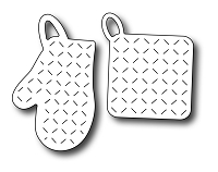 Frantic Stamper Precision Die - Oven Mitt & Pot Holder