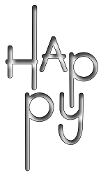 Frantic Stamper Precision Die - Modern Happy