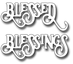 Frantic Stamper Precision Die - Elegant Blessings