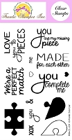 Frantic Stamper Clear Stamp Set - Puzzle Me