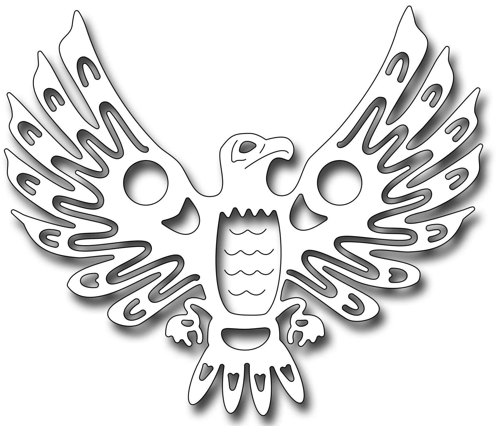Frantic stamper precision die native american eagle biocorpaavc Gallery