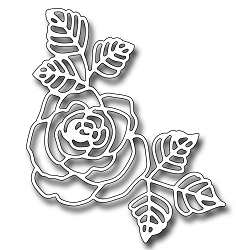 Frantic Stamper Precision Die - Beautiful Rose
