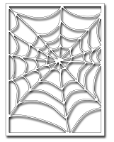 Frantic Stamper Precision Die - Spiderweb Card Panel