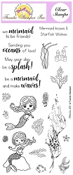Frantic Stamper Clear Stamp Set - Under the Sea Mermaid Sentiments