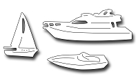 Frantic Stamper Precision Die - Boat Icons