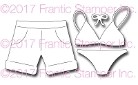 Frantic Stamper Precision Die - Swimsuits