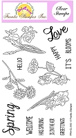 Frantic Stamper Clear Stamp Set - Spring Is Blooming
