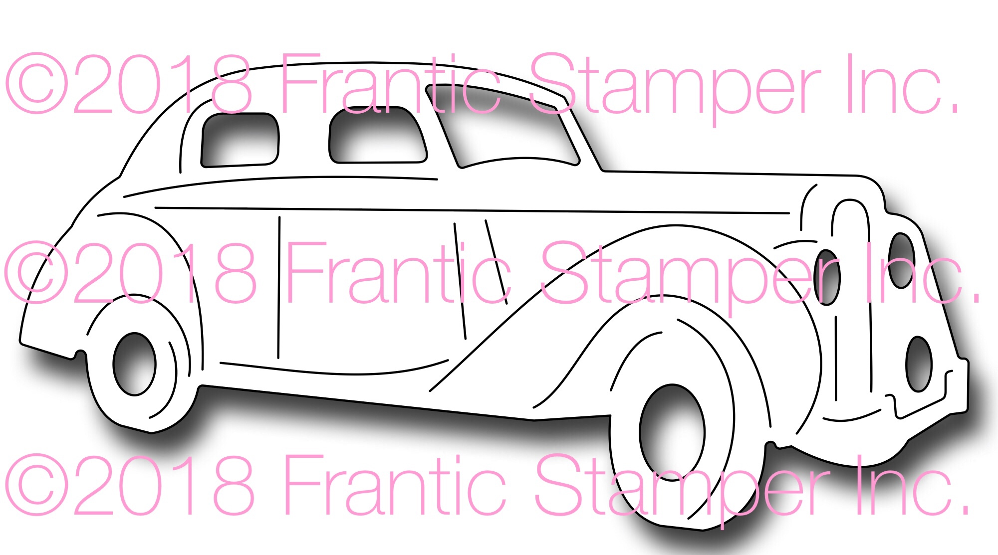 Frantic Stamper Precision Die - Old Car