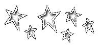 Frantic Stamper Precision Die - Reverse Cut Stitched Country Stars