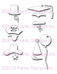 Frantic Stamper Precision Die - Critter Accessories