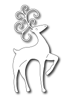 Frantic Stamper Precision Die - Large Fancy Deer