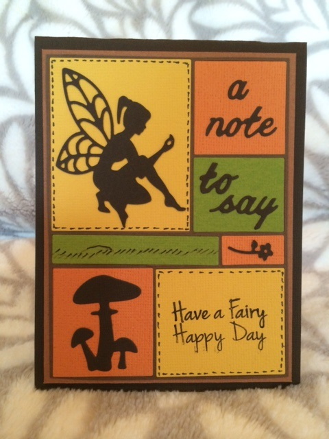 Image result for cards using Frantic Stamper Fairy and flower die