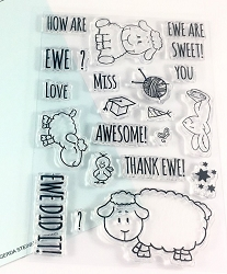 Gerda Steiner - Clear Stamps - How Are Ewe?