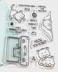 Gerda Steiner - Clear Stamps - Playful Kitten