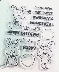 Gerda Steiner - Clear Stamps - Happy Hoppy