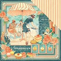 Graphic 45 - Cafe Parisian Collection - 12