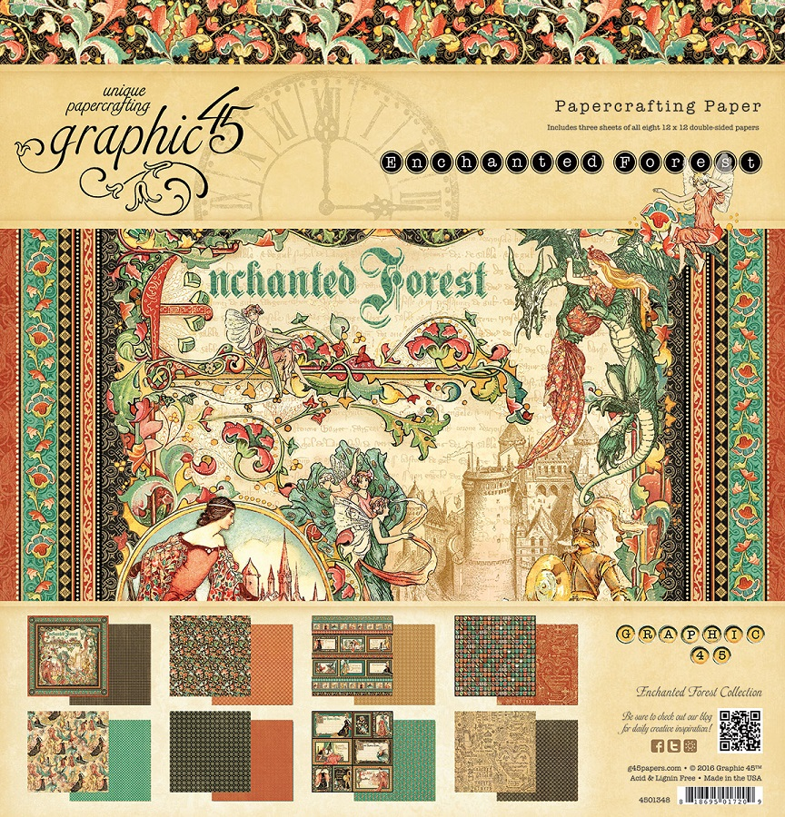 Graphic 45 - Enchanted Forest Collection